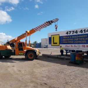 Slewing Mobile Crane - Industry Training QLD